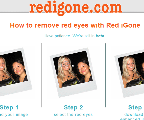 free online red eye removal