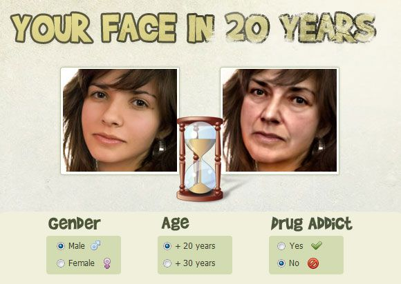 how your face changes as you age
