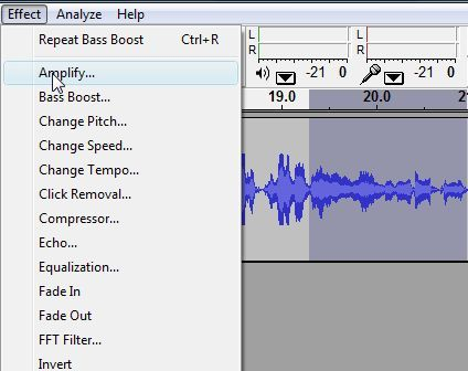 audacity interview recording