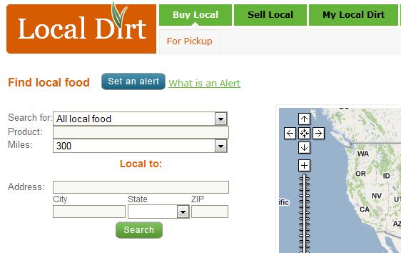 localdirt1   Local Dirt: Online Local Food Finder