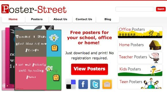 free poster online