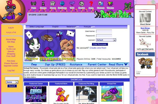 virtual pet sites