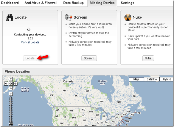Remotely Erase Data From Your Stolen Phone using Lookout pp5