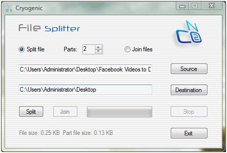 split big files