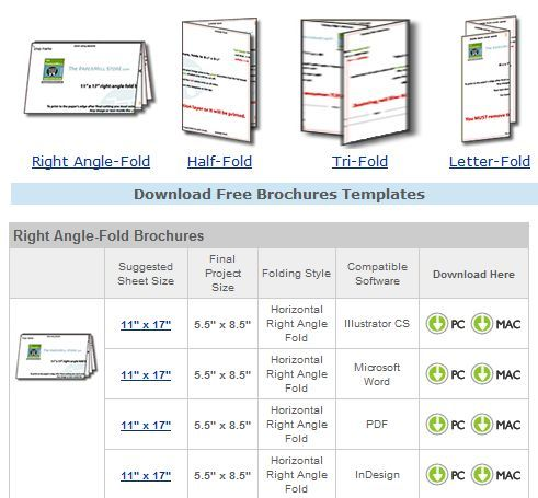brochure templates for word 2007