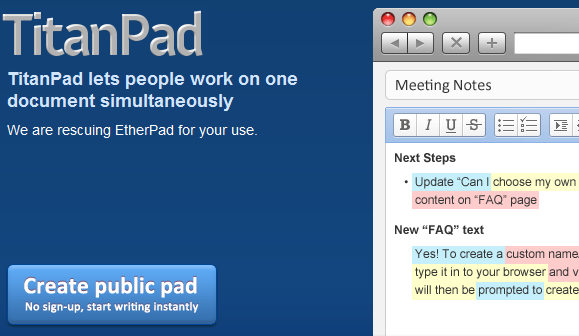 real-time document collaboration