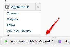 how to move wordpress blog