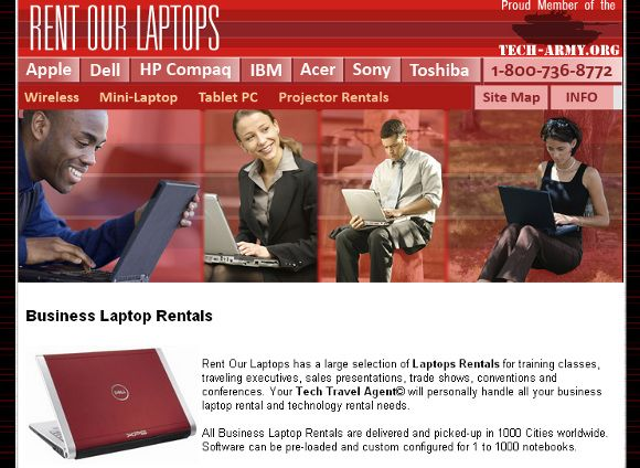 rent a laptop