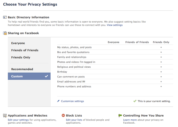 6 Simple Tips To Protect Your Privacy on Facebook Facebook Privacy Settings