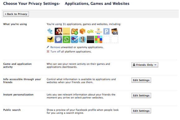 6 Simple Tips To Protect Your Privacy on Facebook Facebook app Settings