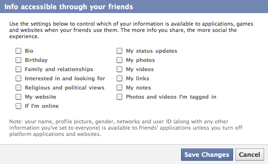 6 Simple Tips To Protect Your Privacy on Facebook Facebook info Settings