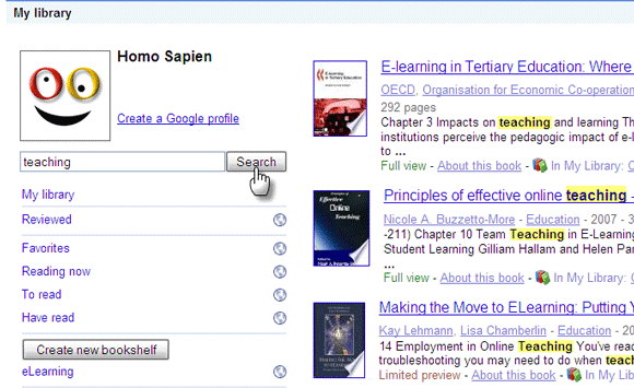 10 Ways to Use Google Books for Lifelong Learning and Research GoogleBooks06