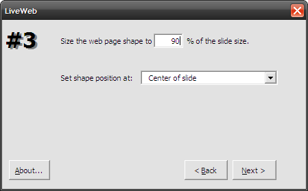 embed web pages in powerpoint
