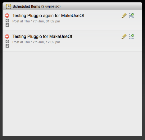 Pluggio - A Great Online Twitter Client For Netbook Users Schedule