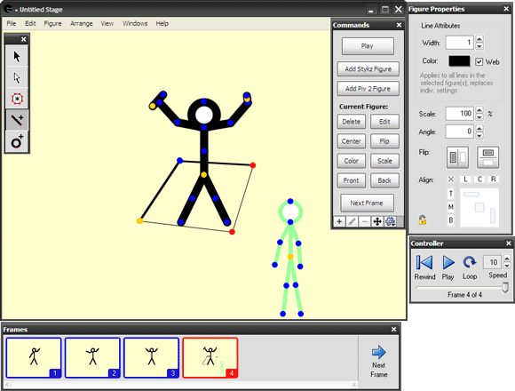 stick figure animation