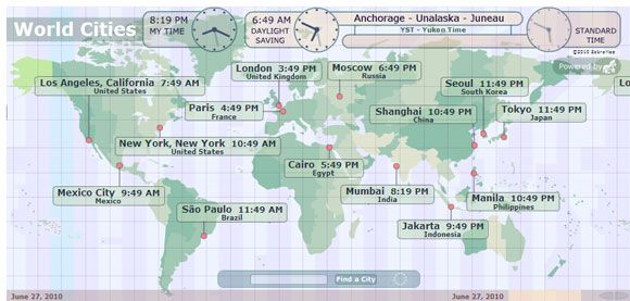 10 ways to visualize time zones around the world be on time time zones around the world gumiabroncs Gallery
