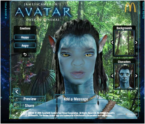 turn yourself into an avatar character