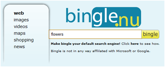 search bing and google at the same time