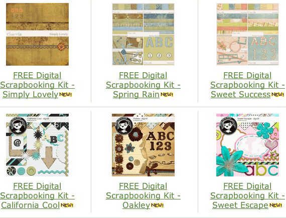 free scrapbooking layouts