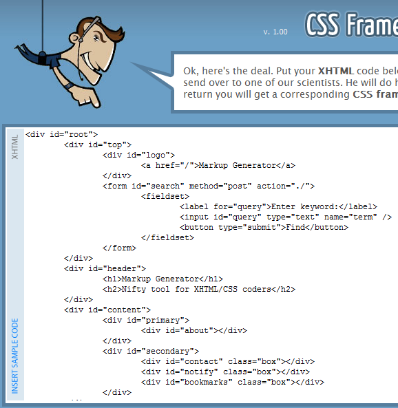 css frame codes