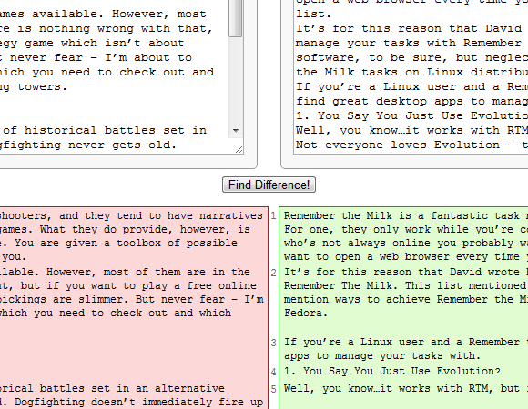diffchecker1   DiffChecker: Find Text Differences Between Two Files