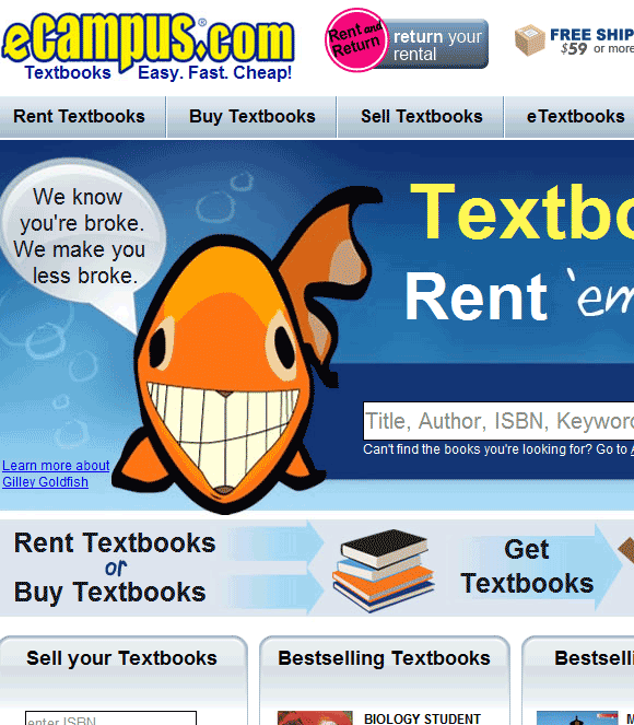 sell your textbooks online