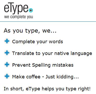 auto-complete words