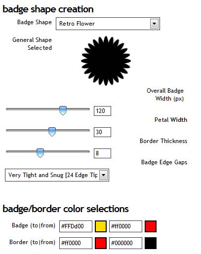 generate free badge