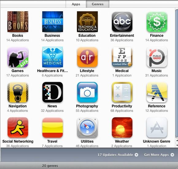organize iphone apps