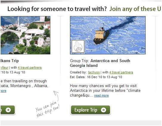 group travel organiser