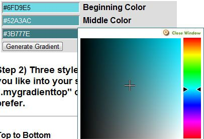 create radial gradient