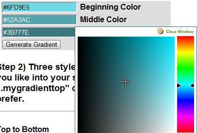 create radial gradient