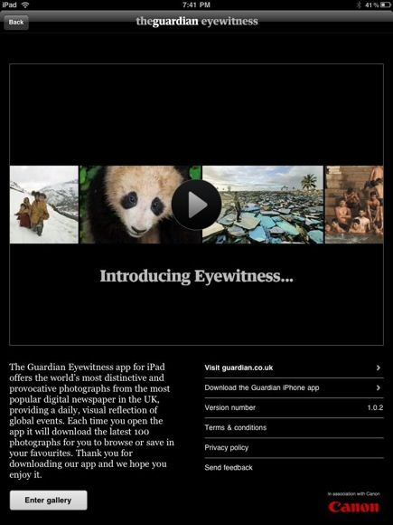 Browse Stunning Photos on Your iPad with Eyewitness App guardianeyewitness1