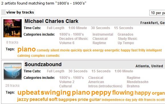 image thumb10   Soundzabound: Royalty Free Music Database