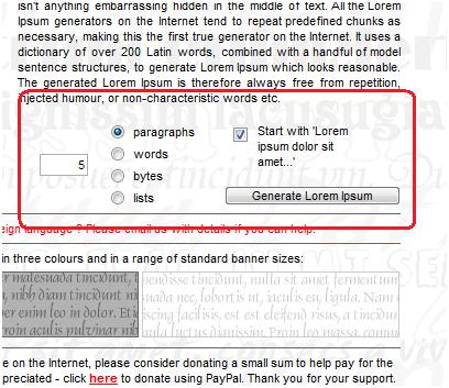 lipsum   Lipsum: Lorem Ipsum Dummy Content Generator