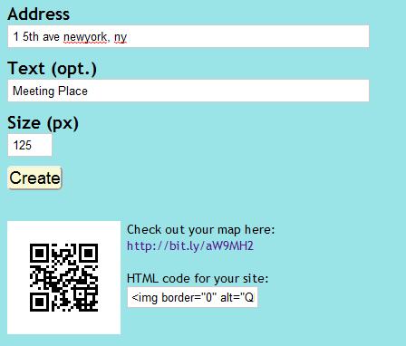 qr code location