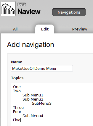 easy website navigation