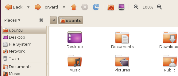 linux file browser