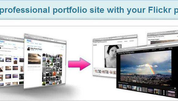 create a photography portfolio
