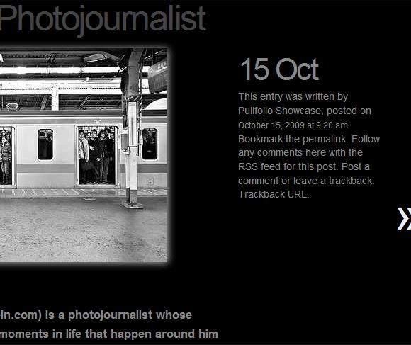 create online photography portfolio
