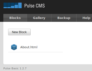How To Have The Functionality Of A CMS On Any Old Website pulsecms defaultbox
