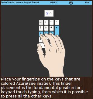 web based typing tutor