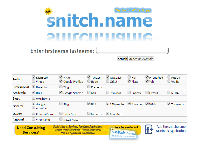 6 Most Powerful Search Engines for Social Networks snitch name 670x480