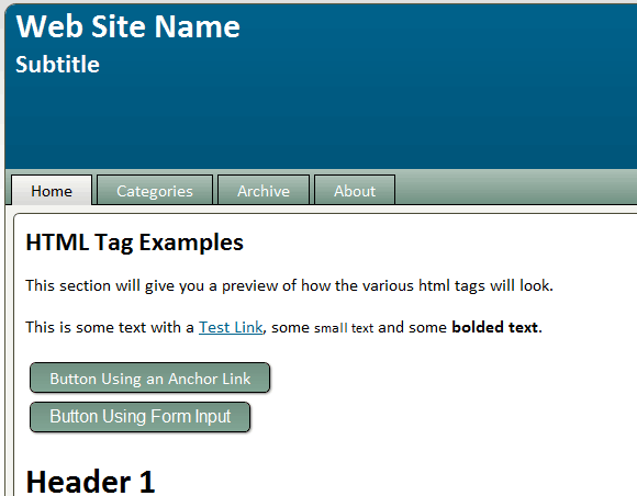 template generator for wordpress