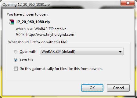 html fluid layout