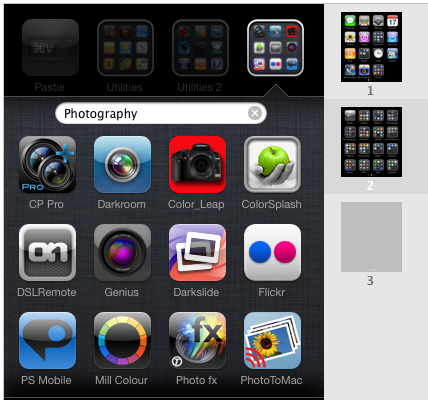 app to organize my iphone apps