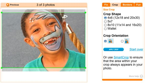 how to crop photos