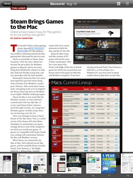 Zinio - Read Your Favorite Magazines On Your iPad (or PC)
