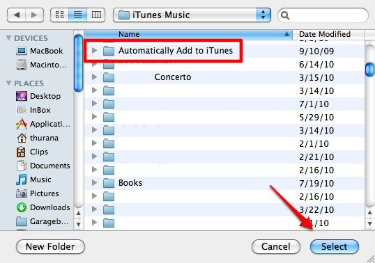 import music to itunes