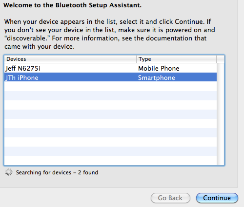 iphone bluetooth dun enable